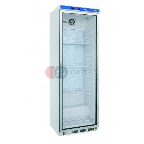 Edenox Szafa chłodnicza 1-drzwiowa przeszklona 400 l aps-401-c