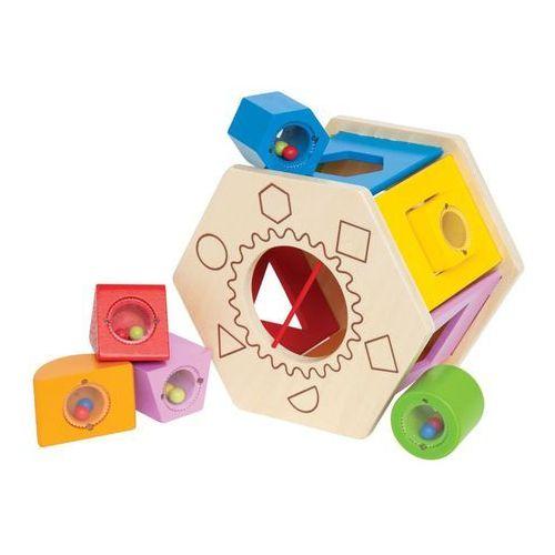 Hape sorter kształtów dla dzieci shake and match, e0407 (6943478002548)