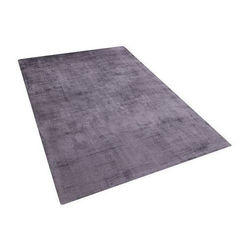 Dywan szary 140x200 cm krótkowłosy - chodnik - wiskoza - GESI (7105273744835)