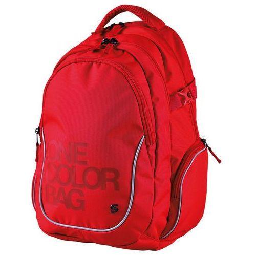 Stil plecak szkolny One Colour, czerwony (8591577044990)