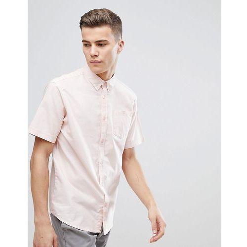D-Struct Basic Oxford Short Sleeve Shirt - Pink