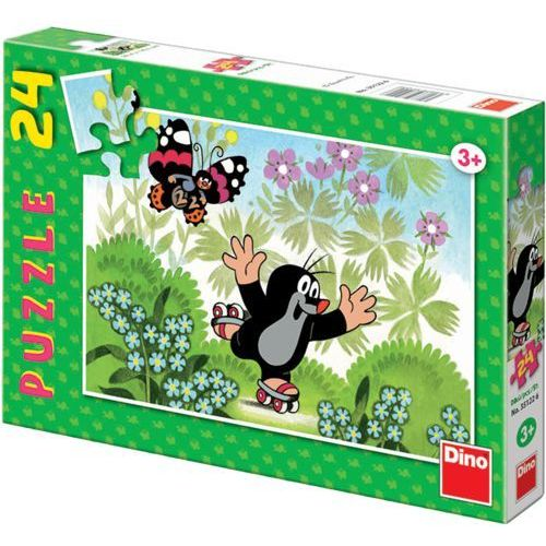 Puzzle 24 Krecik na wrotkach DINO, kup u jednego z partnerów