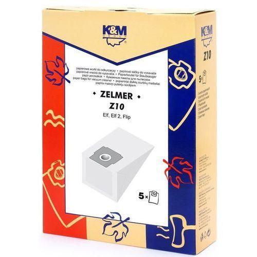 Worek do odkurzacza z10 (5 sztuk) + zamów z dostawą jutro! marki K&m
