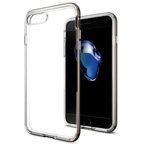 Zestaw   Spigen SGP Neo Hybrid Crystal Gunmetal   Obudowa + Szkło ochronne Perfect Glass dla modelu Apple iPhone 7 Plus