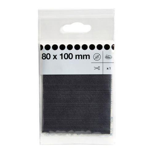 Podkładki filcowe samoprzylepne Diall 80 x 100 mm brązowe, F080F38010