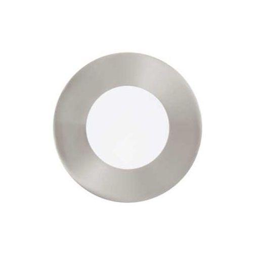 Plafon lampa oprawa wpuszczana downlight oczko fueva 1 1x2,7w led nikiel mat / biały okr.95465 marki Eglo