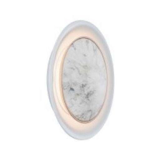 Paulmann Dekoracyjna oprawa ścienna do wbudowania 2,5w marmur / biały mat, 92928