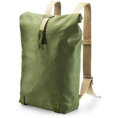 Brooks Pickwick Canvas Plecak 26l zielony/oliwkowy 2018 Plecaki szkolne i turystyczne (0190445014110)