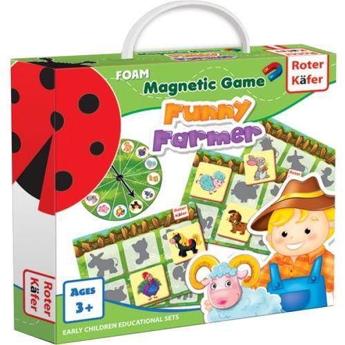 Roter kafer Funny farmer - gra magnetyczna - darmowa dostawa kiosk ruchu (4820174842192)