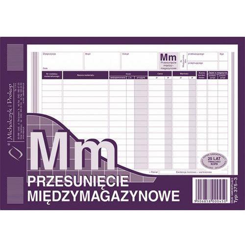 Przesunięcie międzymagazynowe mm michalczyk&prokop 375-3 - a5 (wielokopia) marki Michalczyk i prokop