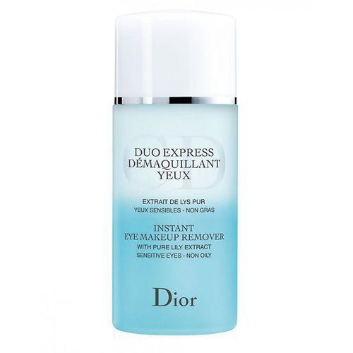 Christian Dior Duo Express Eye Makeup Remover 125ml płyn do demakijażu oczu [W]