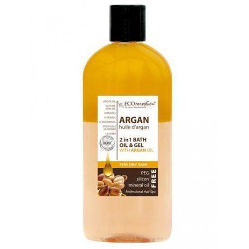 ECO RECEPTURA Argan - dwufazowy olejek do kąpieli i pod prysznic 300ml