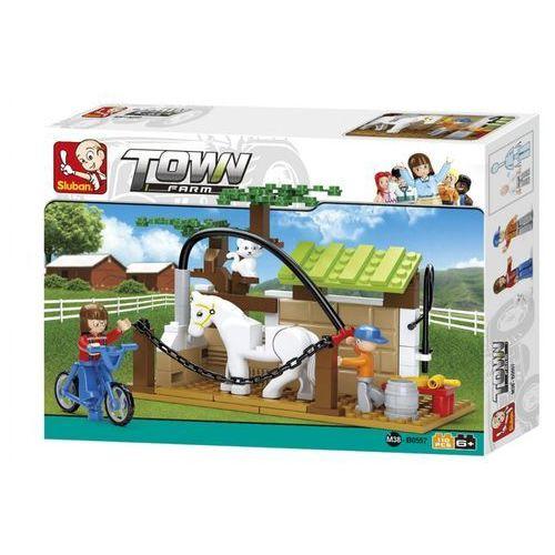 Klocki konstr 110el farma z koniem b0 pud