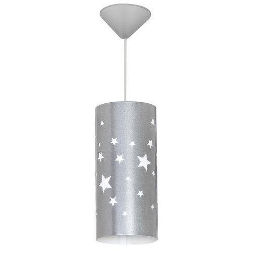 Gwiazdy lampa wisząca 1-punktowa srebrna 710G/3/M/ niebieska 710G/11/M