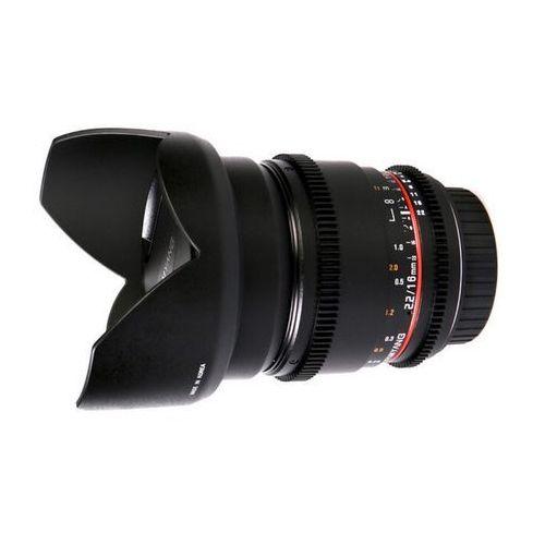 16mm t2,2 vdslr ii (canon) - przyjmujemy używany sprzęt w rozliczeniu | raty 20 x 0% marki Samyang