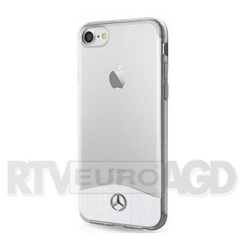 Mercedes Etui hard do iPhone 7 srebrne (MEHCP7TRBRSI) Darmowy odbiór w 20 miastach! (3700740392201)