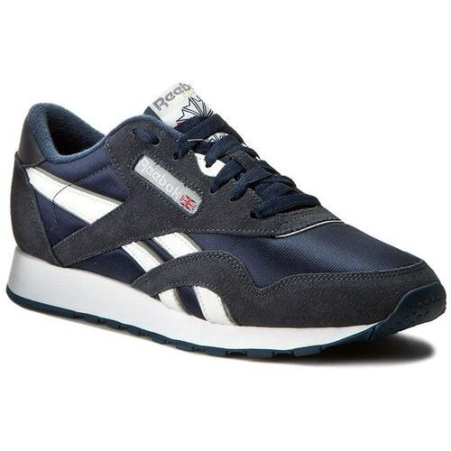 Buty Reebok - Cl Nylon 39749 Team Navy/Platinum, 35-38.5