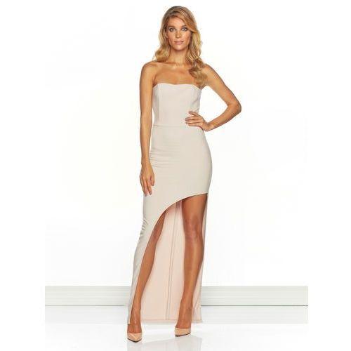 Sukienka carina w kolorze nude marki Sugarfree.pl