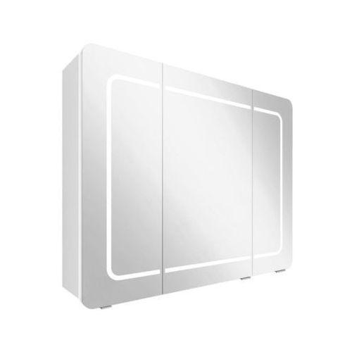 Szafka lustrzana z oświetleniem LIDIA 80 ASTOR (5907798028962)