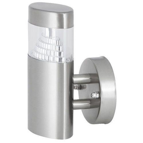 Kinkiet detroit 8142 lampa ogrodowa zewnętrzna 1x6w led ip44 srebrny marki Rabalux