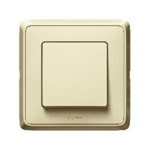 Przycisk światło/dzwonek Legrand Cariva kremowy (3245066941844)