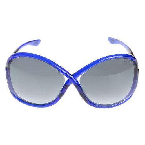 Tom Ford Whitney Okulary przeciwsłoneczne Niebieski UNI
