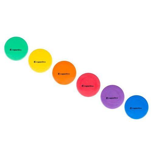 Okrągłe kolorowe znaczniki trening obwodowy inSPORTline Marker 25cm (8596084032317)