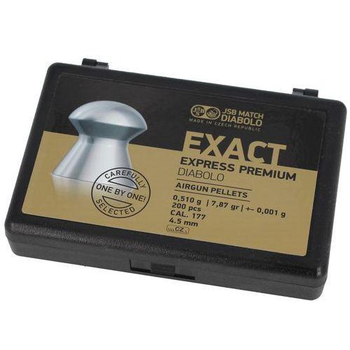 Śrut JSB Exact Express Premium 4.52mm 200szt (10257-200) (2010000144831)