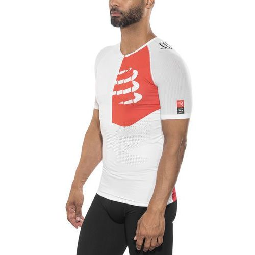 Compressport Triathlon Postural Aero Mężczyźni czerwony S 2018 Pianki do pływania