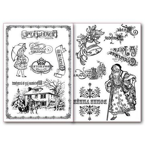 Papier do transferu a4 - 2 sztuki - 034 marki Stamperia