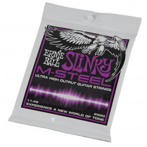 2920 m-steel slinky 11-48 struny do gitary elektrycznej marki Ernie ball