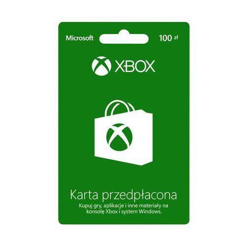 Doładowanie Xbox Live 100 PLN - produkt z kategorii- Kody i karty pre-paid