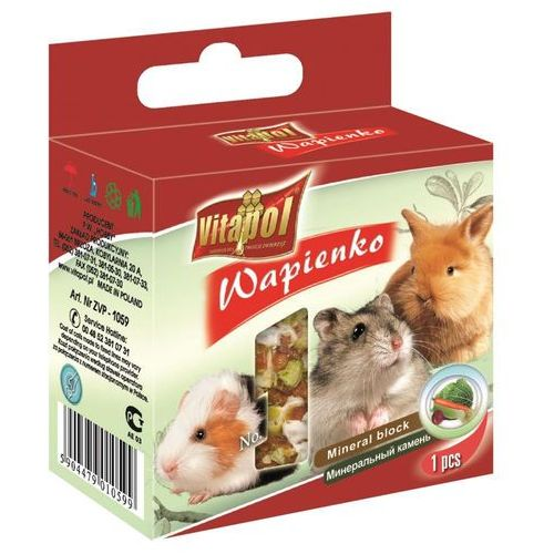 Vitapol Wapno dla gryzoni i królika warzywne 40g