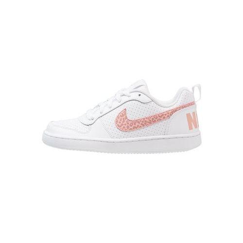 Nike Sportswear COURT BOROUGH Tenisówki i Trampki white/rust pink/coral stardust (0884497100432)
