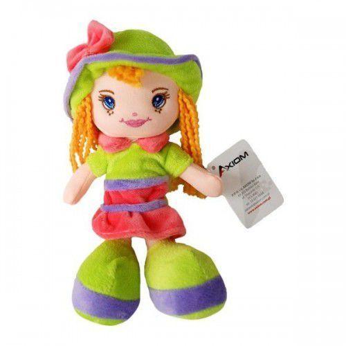 lalka karolina w kapeluszu zielona marki Axiom