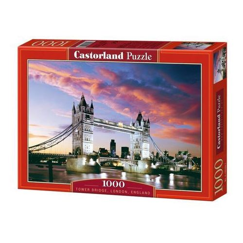 Puzzle 1000 elementów. tower bridge londyn (c-101122-1) marki Castorland