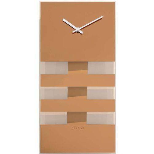 Nextime zegar ścienny 'bold stripes'
