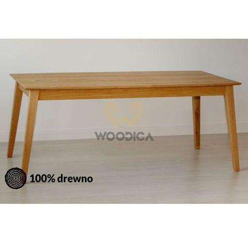 Stół dębowy modern u 05 100x75x100 marki Woodica