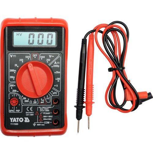 Yato Multimetr/miernik cyfrowy, buzer / yt-73080 / - zyskaj rabat 30 zł (5906083730801)
