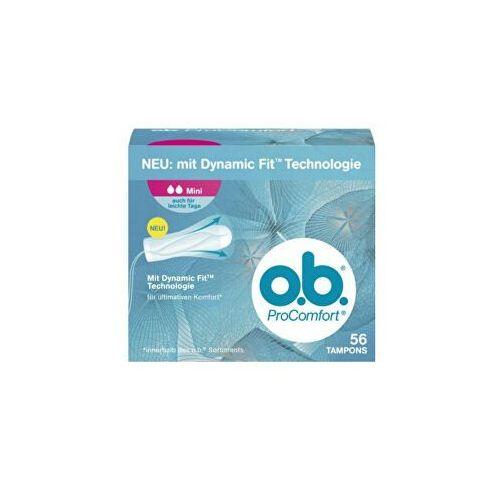 procomfort mini tampony 56 sztuk marki O.b.