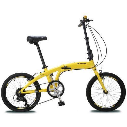 "składany rower 20"" yellow/black marki Olpran"