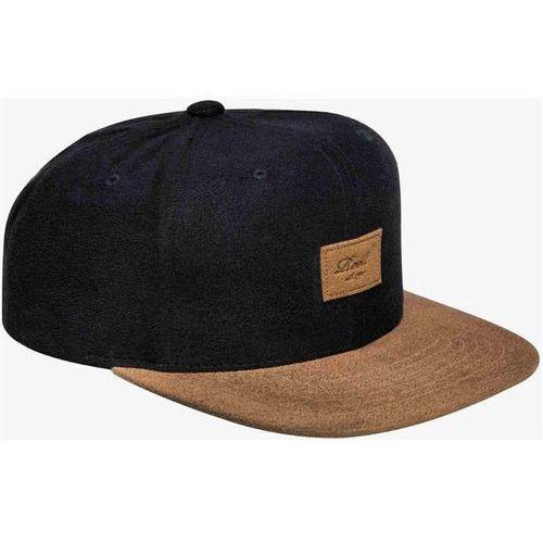 czapka z daszkiem REELL - Suede 6-Panel Cap Black Suede (BLACK SUEDE) rozmiar: OS, kolor czarny