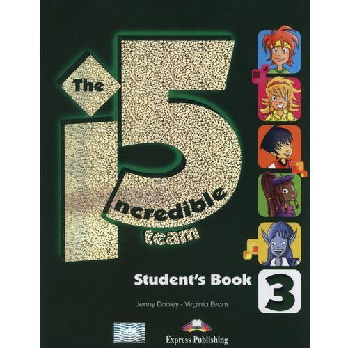 OKAZJA - The Incredible 5 Team 3. Podręcznik + Interactive eBook (128 str.)