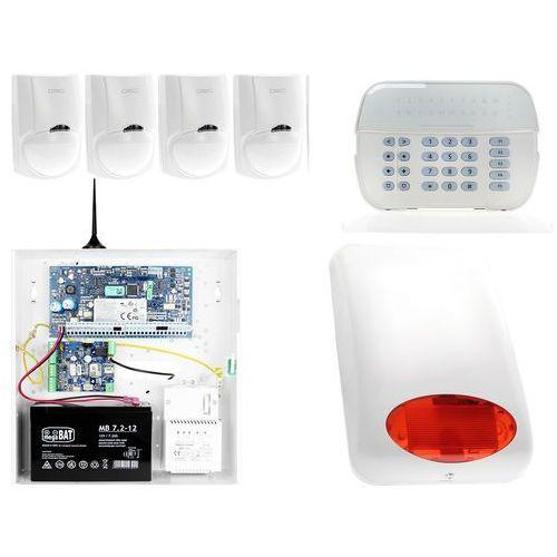 Za12540 zestaw alarmowy 4x czujnik ruchu manipulator led powiadomienie gsm marki Dsc