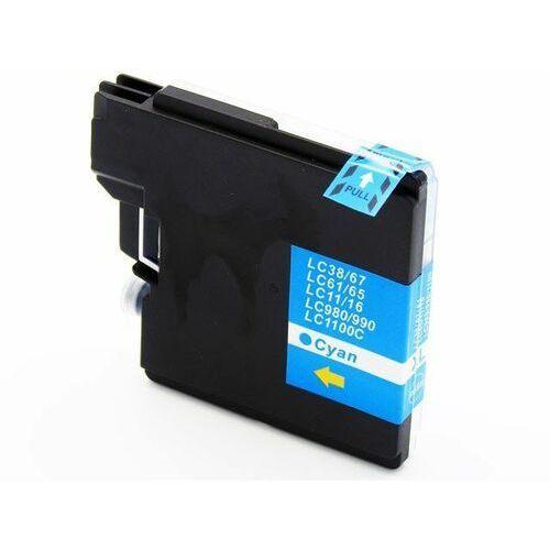 Zgodny tusz tusz niebieski z lc1100c do brother dcp-195c dcp-385c mfc-490cw marki Dd-print
