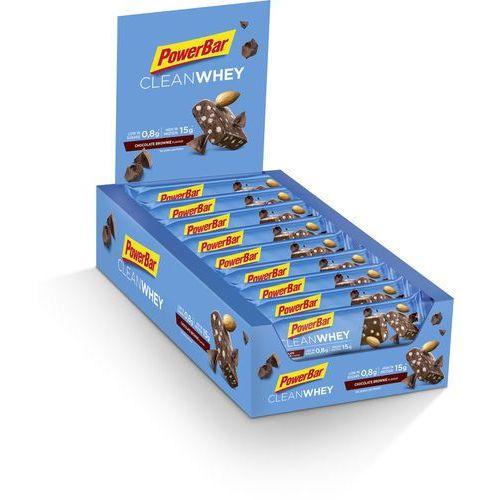 Powerbar clean whey żywność dla sportowców chocolate brownie 18 x 45g 2018 zestawy i multipaki