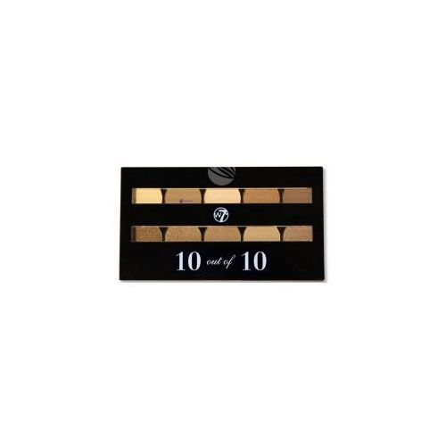 W7 10 out of 10 Eyeshadow Palette (W) paleta 10 cieni do powiek Brown 10g