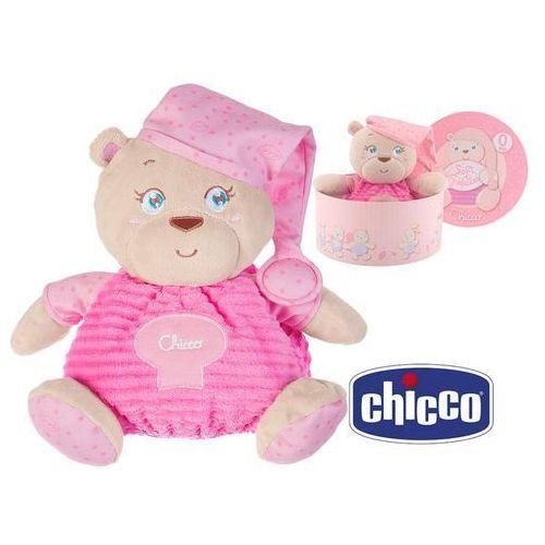 Chicco pluszak miś różowy (8058664027057)
