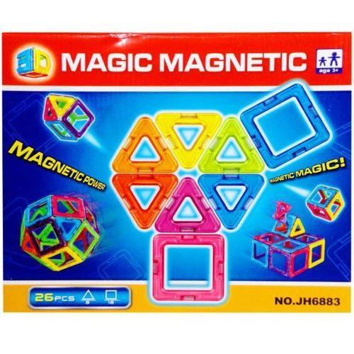 Klocki magnetyczne SWEDE Q2585