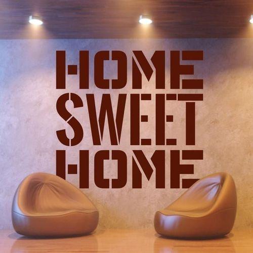 Deco-strefa – dekoracje w dobrym stylu Home sweet home 1710 naklejka